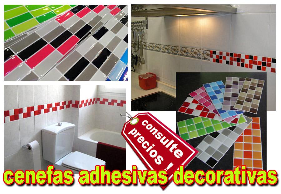 El ba o y la cocina - Cenefas adhesivas cocina ...